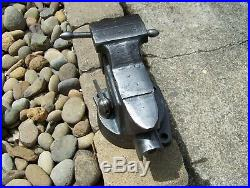 Vintage Craftsman 5176 Swivel Base Vise 360 Degree 3 /12 Jaws Anvil Nice Vise