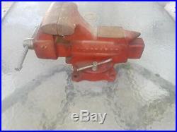 Vintage Craftsman Base Swivel Bench Vise 506-51810 Made in USA 40 lbs