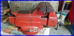 Vintage Craftsman Bench Vise Swivel Base 506-51810 USA VGC HTF 5 inch