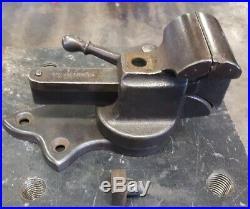 Vintage Jewelers Stephens Patent Vise 2 Inch, SWIVEL BASE MUST SEE