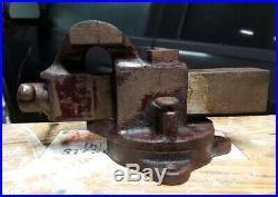 Vintage Original Prentiss Jewelers Vise 2 Swivel Base