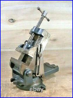 Vintage PALMGREN 4 Machinist Tilting Angle Swivel Base Milling Machinist Vise