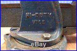 Vintage Paramo Bench Vise #1 Swivel Base