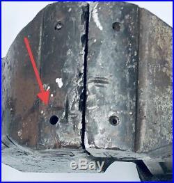 Vintage Parker 4 Swivel Base Bench Vise #974 Union Mfg. Co. Heavy Duty