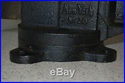 Vintage Prentiss No. 20 Swivel Base Bench Vise Blacksmith