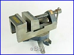 Vintage Stanley # 992 A Swivel Base Machinist Vise Superb Condition Inv T6075