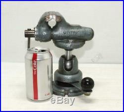 Vintage WILTON 820 Baby Bullet Vise with Powerarm Junior Swivel Base Original Vice