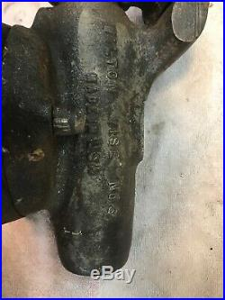 Vintage WILTON Bullet Machinist Vise 3 jaws swivel base No. 3