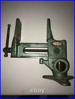 Vintage Will-Burt Versa-Vise Duckbill Jaws Swivel Rotating Base Gunsmith