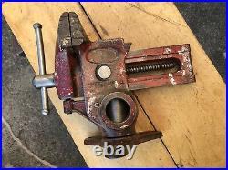 Vintage Will-Burt Versa-Vise Swivel Rotating Base Gunsmith Wood Working Tool