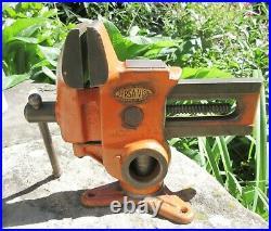 Vintage Will-Burt Versa-Vise w Rotating Swivel Base Gunsmith Wood Working Hobby