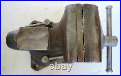 Vintage Wilton 1750 Bullet Vise with Swivel Base 5 Jaws USA