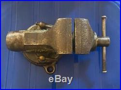 Vintage Wilton 2 Baby Bullet 920 820 920p Vise Swivel Base 5-47 Machinist Vise