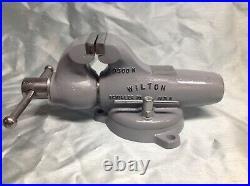 Vintage Wilton 3 Bullet Vise With Swivel Base The Toddler Restored