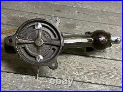 Vintage Wilton 3 Vise With Swivel Base Sept. 1950 Baked On Linseed Oil Finish