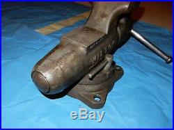 Vintage Wilton 450S 4-1/2 Machinist Bullet Vise withSwivel Base NICE