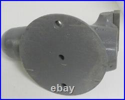 Vintage Wilton 4 Bullet Bench Vise Non Swivel Base Restored See Description