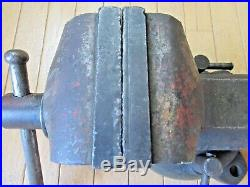 Vintage Wilton 4 Bullet Vise Swivel Base No. 101028