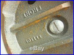 Vintage Wilton 645 5 Jaw, 6-1/2 opening Swivel Base Vise Super NICE