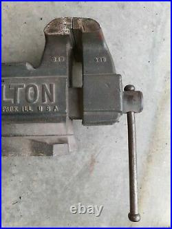 Vintage Wilton 645 Bench Top Swivel Base 5 Vise