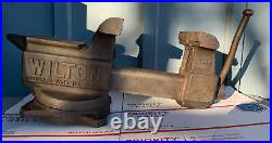 Vintage Wilton 645 Bench Top Vise 5 jaws and swivel base 13-645