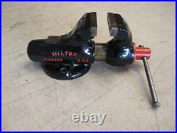 Vintage Wilton 820 2 Baby Bullet Machinist Bench Vise (NO SWIVEL BASE)