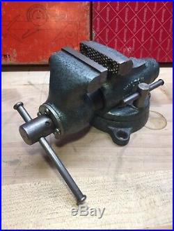 Vintage Wilton 820 Baby Bullet Vise 2 Jaws Swivel Base NOS MINT