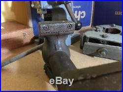 Vintage Wilton 9300 3 Bullet Vise Swivel Base Machinist Mechanic Tool Vise