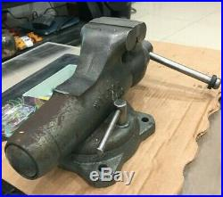 Vintage Wilton # 9300 Baby Bullet Bench Vise With Swivel Base Made In USA