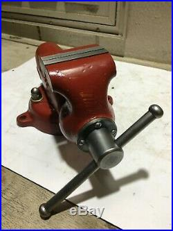 Vintage Wilton #930 3 Baby Bullet Bench Vise With Swivel Base Made In USA