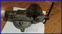 Vintage Wilton 930 3 Swivel Base Jaw Baby Bullet Bench Vise Made In Chic USA