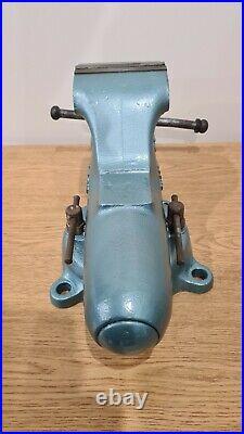 Vintage Wilton 9450 Bullet Vise 4-1/2 Jaws Chicago Swivel Base U. S. A. 1953