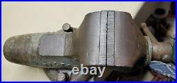 Vintage Wilton Baby Bullet Vise 3 Jaws Swivel Base, Rare Model 930mc, Vg Cond