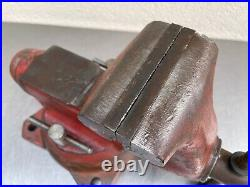 Vintage Wilton Bench Vise 5 Jaws Swivel Base 1750 46 Pounds
