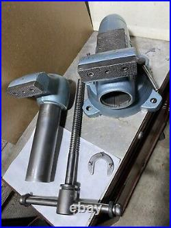 Vintage Wilton Bullet 4 Bench Vise With Swivel Base Made In USA
