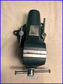 Vintage Wilton Bullet Baby Vise, Swivel Base, 2 1 2 jaws