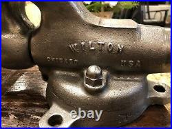 Vintage Wilton Bullet Bench Vise 3 Jaws Swivel Base 1945 3HD Made In USA