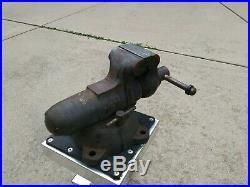 Vintage Wilton Bullet Bench Vise 400S Swivel Base Machine Work Shop Vice USA