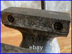 Vintage Wilton Bullet Bench Vise #835 3-1/2 Jaws WithSwivel Base