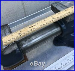 Vintage Wilton Bullet Bench Vise With Swivel Base Made In USA