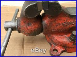 Vintage Wilton Bullet Vice Vise 835 3.5 New Jaws Chicago USA Swivel Base Baby