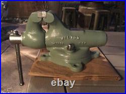 Vintage Wilton Bullet Vise 3 Swivel Base Chicago 1940s