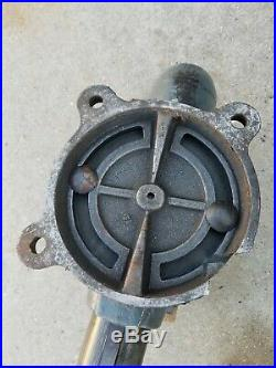 Vintage Wilton Bullet Vise 4-1/2 Jaw Chicago 1945 Swivel Base