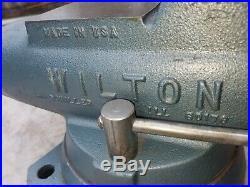 Vintage Wilton Bullet Vise 4 1/2 Swivel Base 450S Vise Mint condition