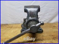 Vintage Wilton Bullet Vise 4 Jaw Swivel Base Great Condition