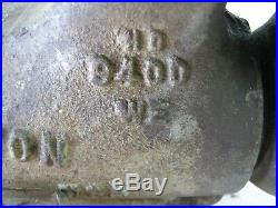 Vintage Wilton Bullet Vise 9400 8400 Machinist Swivel Base 4 Jaws Anvil 1952