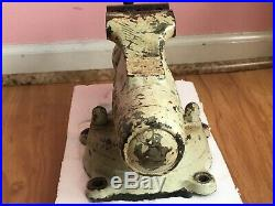 Vintage Wilton Bullet Vise No. 3 Chicago With Swivel Base