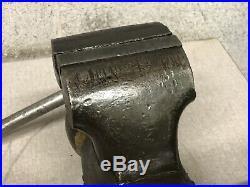 Vintage Wilton Bullet Vise Swivel Base 4 Jaws Old Machine Shop Vise 1968