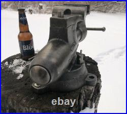 Vintage Wilton Bullet Vise Swivel Jaw Model 9A450SJ Swivel base RARE No reserve