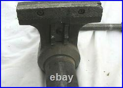 Vintage Wilton Bullet vise 5 jaws No. 1750 with Swivel Base & pipe grip jaws